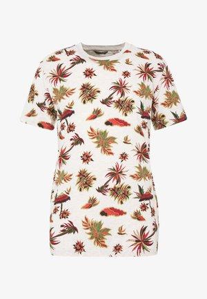 WITH SEASONAL  - Print T-shirt - combo a
