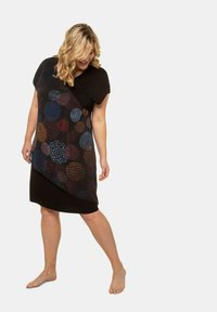 Ulla Popken - Day dress - zwart - 0