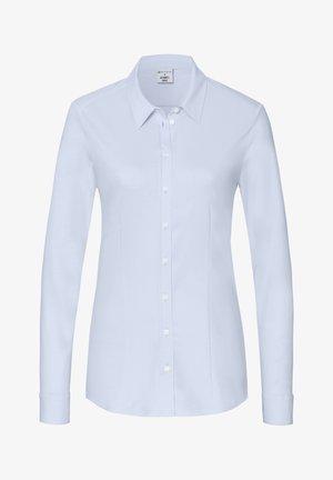 Overhemdblouse - hellblau