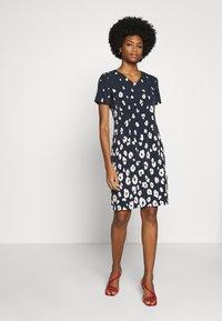 More & More - DRESS  - Kjole - marine/multicolor - 1