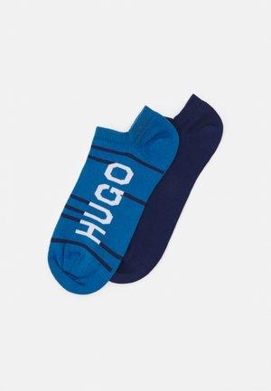 STRIPE 2 PACK - Ponožky - blue/dark blue