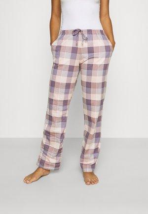 FAVOURITES ELEGANCE - Pyjamasbyxor - leisure white