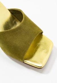 Jeffrey Campbell - MR-BIG - Heeled mules - mint green - 2