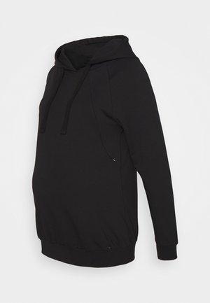 HOODY NURSING - Sweater - black