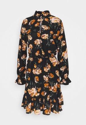 ONLCLORIS SHORT DRESS  - Kjole - black