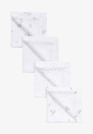 4 PACK - Muslin blanket - white