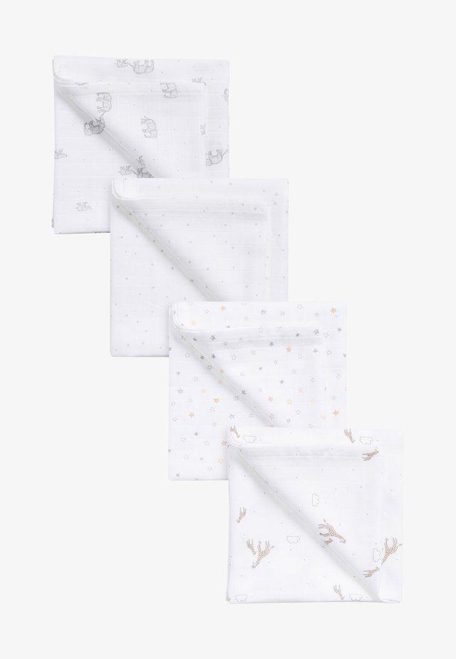 4 PACK - Coperta per neonati - white