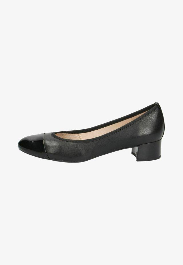Klassieke pumps - black comb