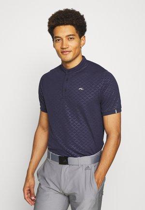 MEN LIAM EMBOSSED - Basic T-shirt - atlanta blue