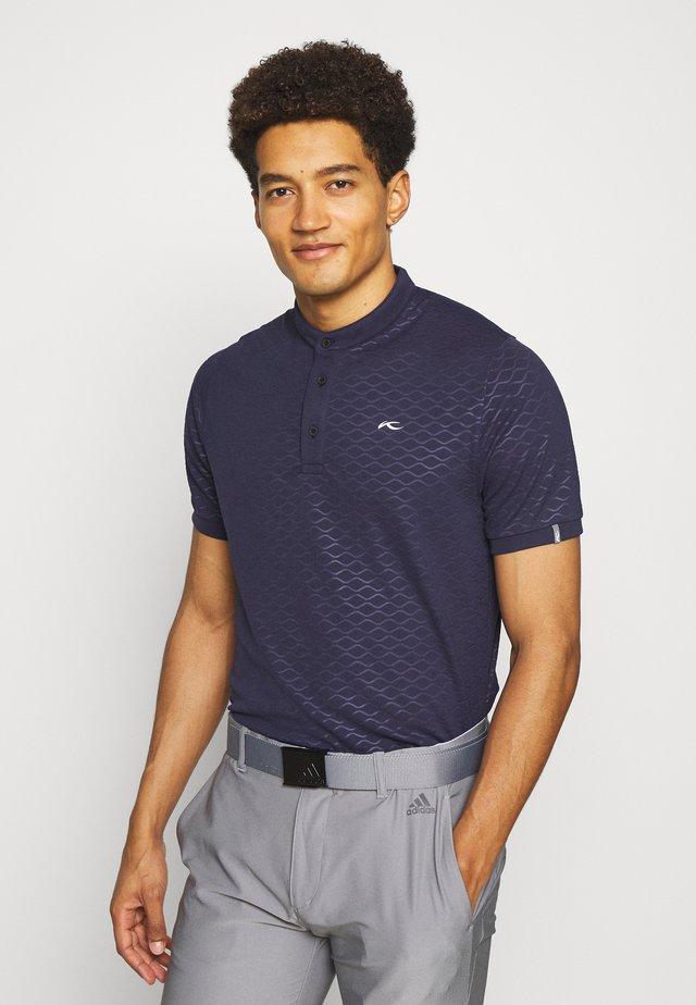 MEN LIAM EMBOSSED - T-shirt basic - atlanta blue