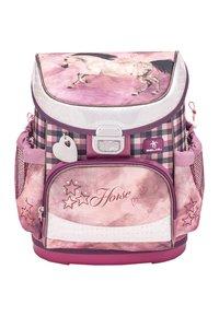 Belmil - SET - School bag - dark red - 2