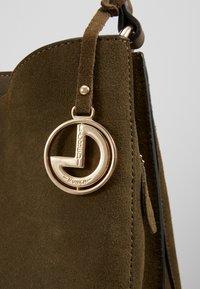 L. CREDI - FIORETTA - Handbag - khaki - 4