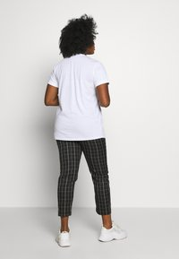 Kaffe Curve - TIVA - Print T-shirt - white - 2