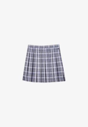 MIT KELLERFALTEN - A-line skirt - dark grey