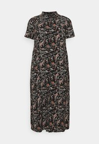 Vero Moda Curve - VMSIMPLY EASY LONG - Maxi dress - black - 0