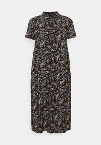 Vero Moda Curve - VMSIMPLY EASY LONG - Maxi dress - black - 0
