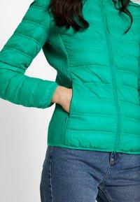 Benetton - HOODED JACKET - Down jacket - bright green - 5