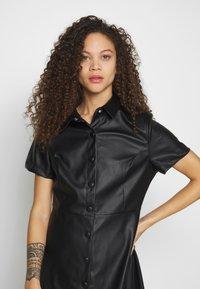 New Look Petite - BELTED DRESS - Shirt dress - black - 2