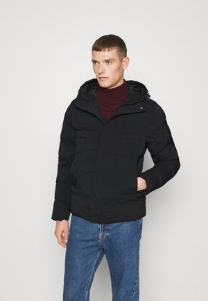 HOODED STRETCH - Winter jacket - black