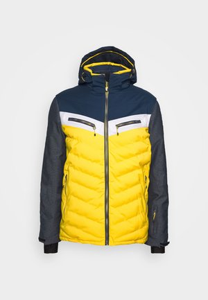 TIRANO - Ski jacket - gebranntes gelb