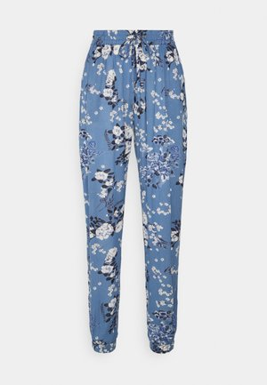 EKUA AMBER PANTS - Trousers - blue tone