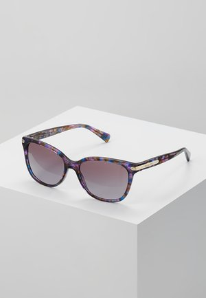 Sluneční brýle - confetti purple