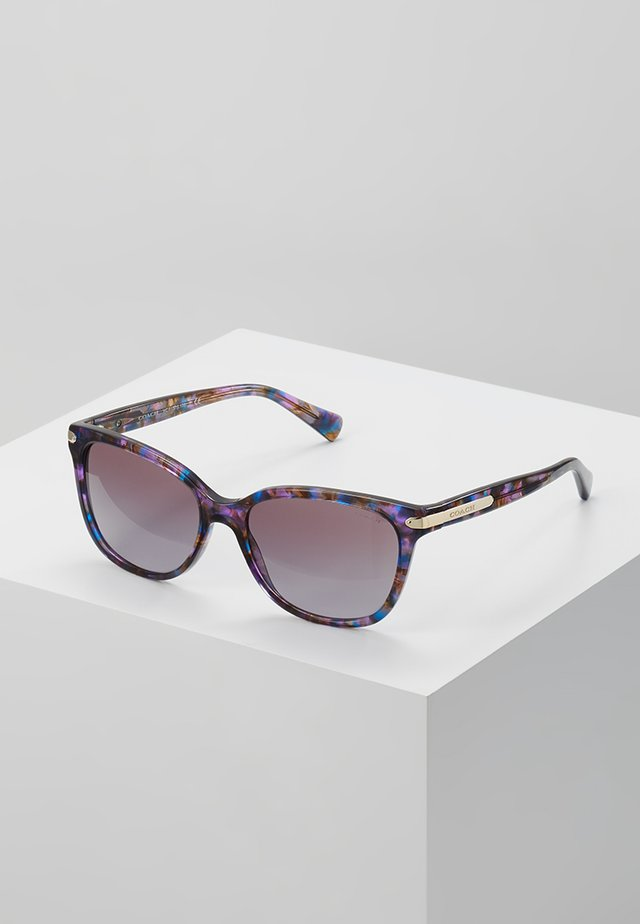 Solbriller - confetti purple