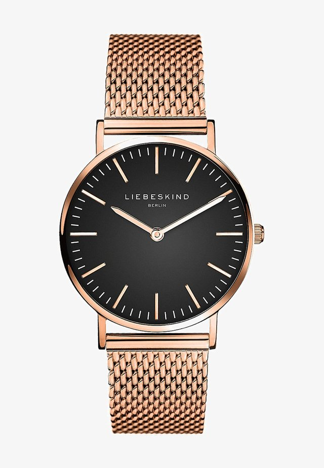 Montre - rosegold-coloured