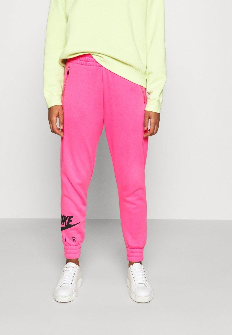 Nike Sportswear - AIR PANT   - Tracksuit bottoms - pinksicle/black