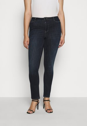 JRONEADDIS - Jeans slim fit - dark blue denim