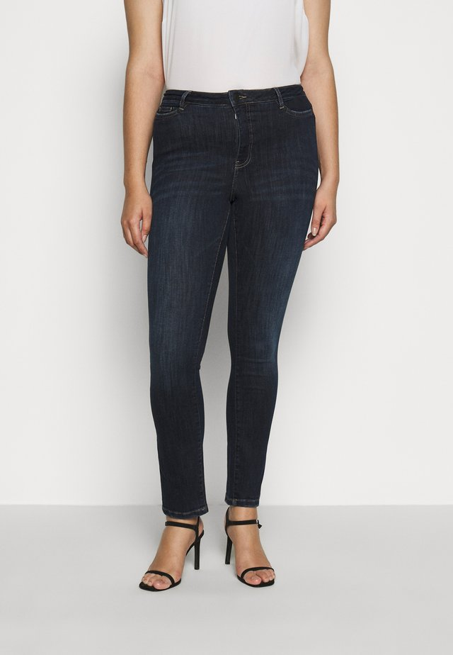 JRONEADDIS - Slim fit jeans - dark blue denim