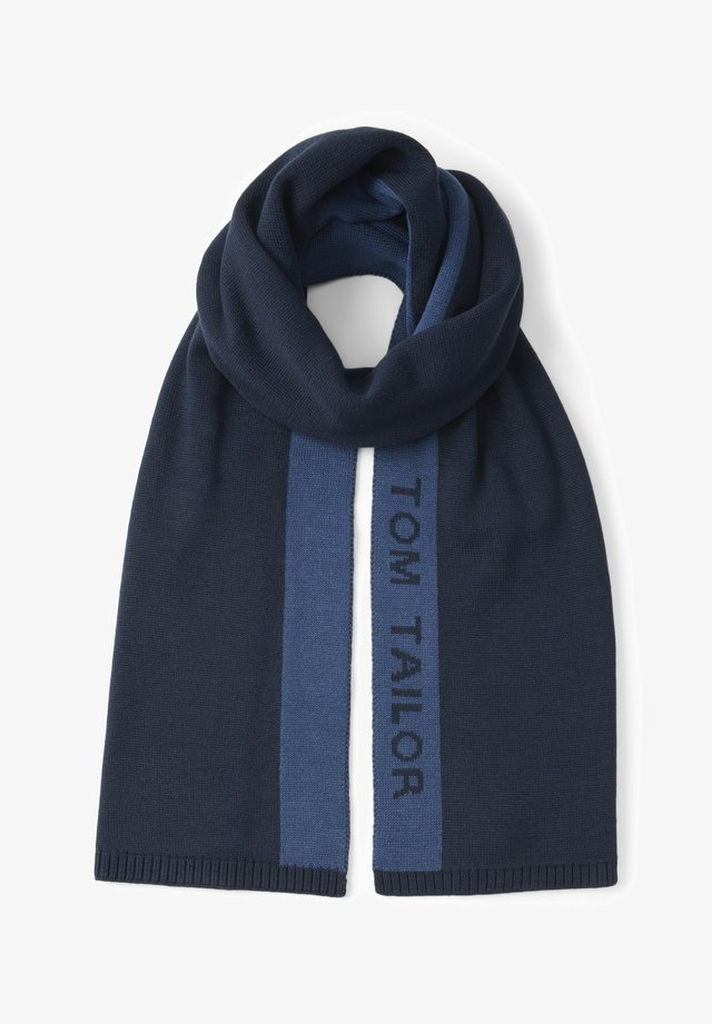 Scarf - dark denim blue