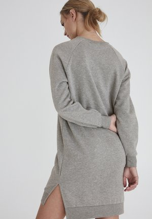 IHJONDELL SW - Jersey dress - grey melange