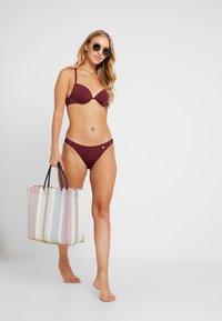 LASCANA - PUSH UP SET - Bikini - bordeaux - 1