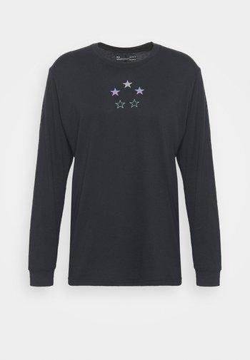 CURRY TEE - Camiseta de manga larga - black
