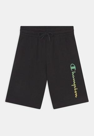 AMERICAN PASTELS BERMUDA UNISEX - Sportovní kraťasy - black