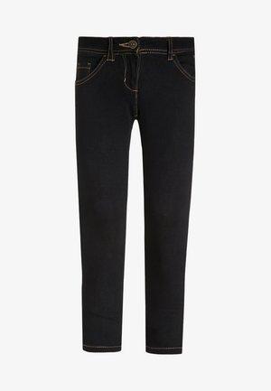 Jeans Skinny Fit - rinsed blue denim