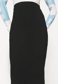 Even&Odd - 2 PACK - Falda de tubo - black/pink - 6