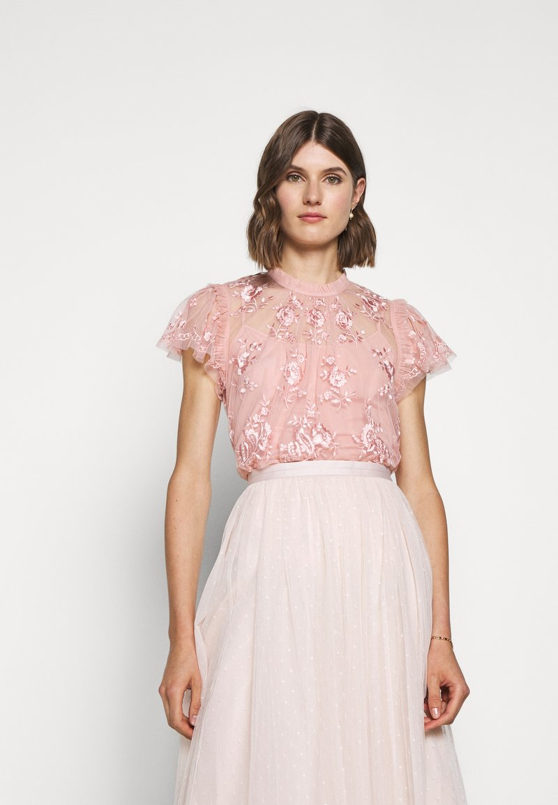 Needle & Thread - ASHLEY EXCLUSIVE - Blůza - desert pink