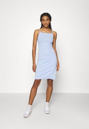 Jerseykleid - light blue