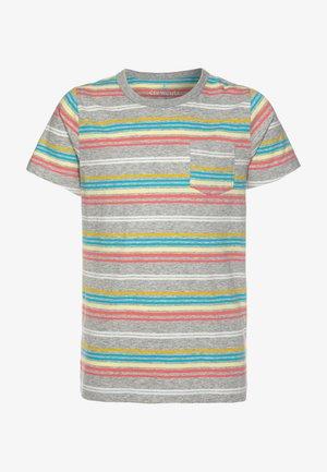 RAINBOW STRIPE - T-shirts print - grey/multicolor