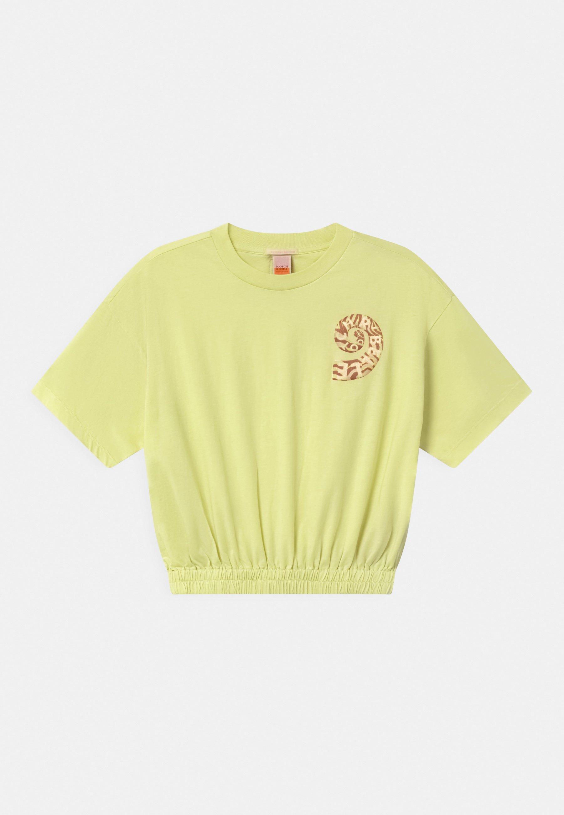 Kids SHORT SLEEVE TEE WITH ELASTICATED HEM - Print T-shirt