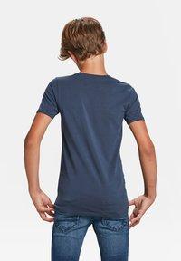 WE Fashion - Basic T-shirt - dark blue - 2