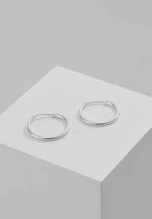 DIA HOOP - Pendientes - silver-coloured