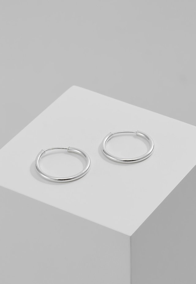 DIA HOOP - Earrings - silver-coloured