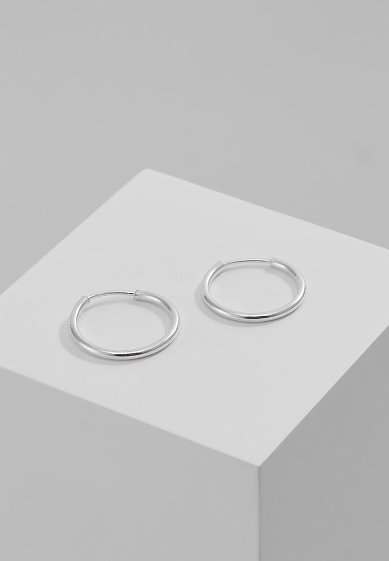Pilgrim - DIA HOOP - Náušnice - silver-coloured