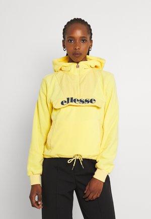 NAVU - Fleecová mikina - yellow