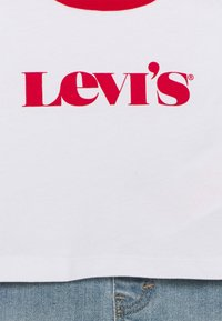 Levi's® - RINGER TEE SET - Camiseta estampada - white - 3