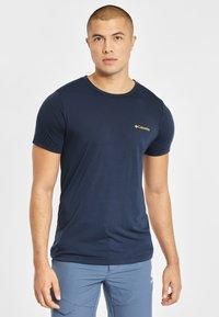 Columbia - Print T-shirt - dark blue - 0