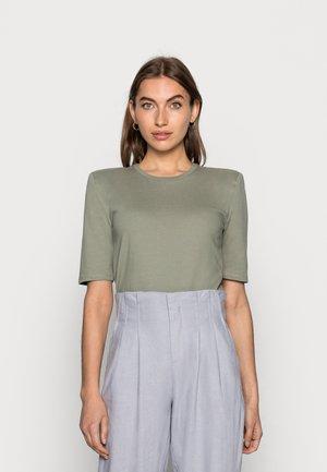 DEBORAH TEE - T-shirt basic - dusk khaki